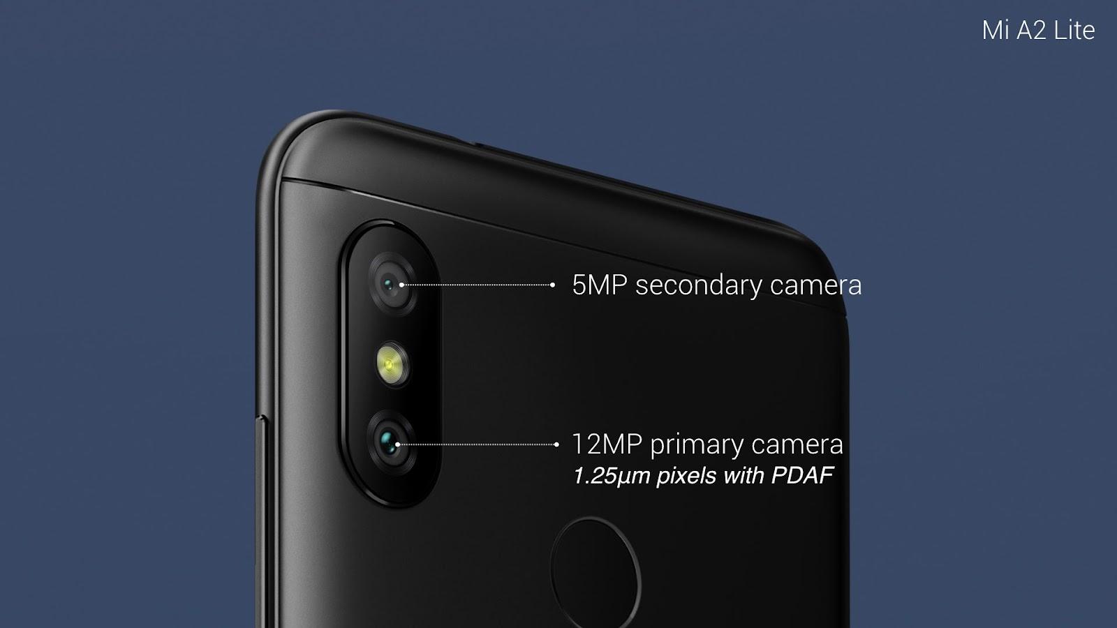 Mi A2 Lite: Get best AI dual camera in its class