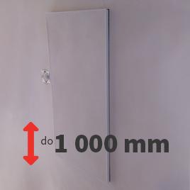 Revizní dvířka do omítky do výšky otvoru 1000 mm
