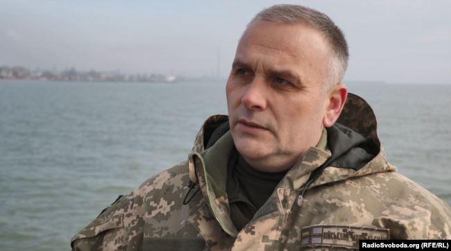 Сергій Гундер, офіцер ВМС України
