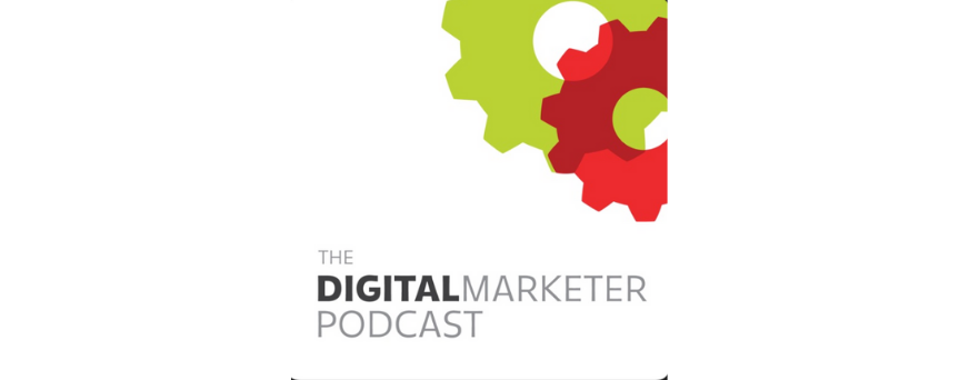The DigitalMarketer Podcast Podcasts logo