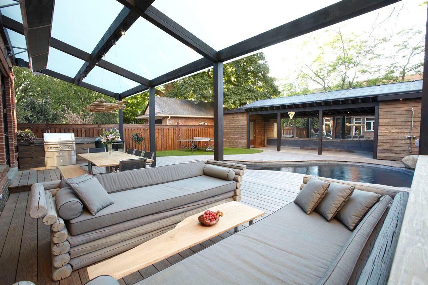terrasse med stue
