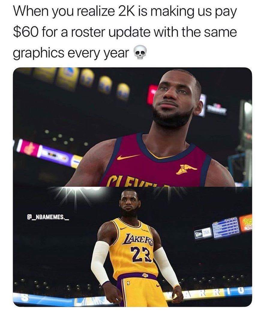 Do Games Like NBA 2K Change From Year To Year? Are They Worth The $$$? –  Oregon Sports News