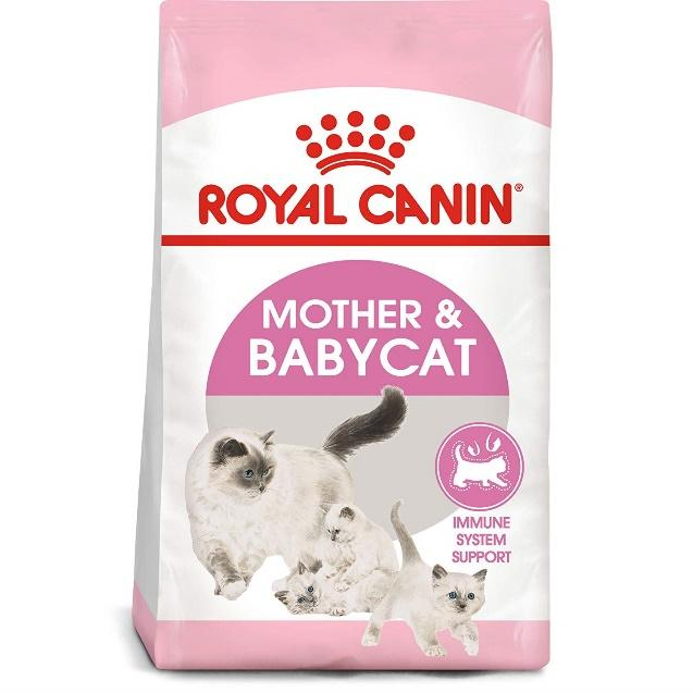 Royal Canin Mother & Babycat โรยัล คานิน อาหารแม่แมวตั้งท้อง  ให้นมลูกและลูกแมวอายุ 4 สัปดาห์ - 4 เดือน | Lazada.co.th