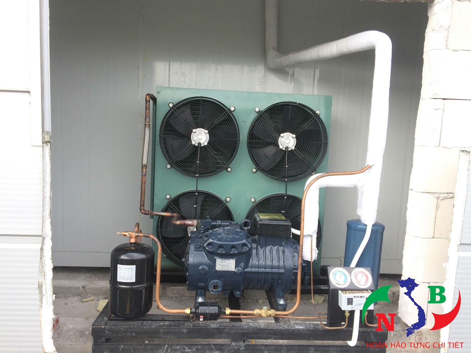 Lắp đặt hệ thống 2 kho lạnh tại nhà bếp của công ty Lends – Đài Loan, KCN Quang Châu, Bắc Giang