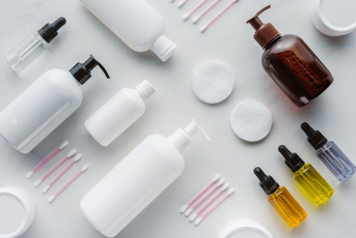 sản phẩm skincare không chứa dầu