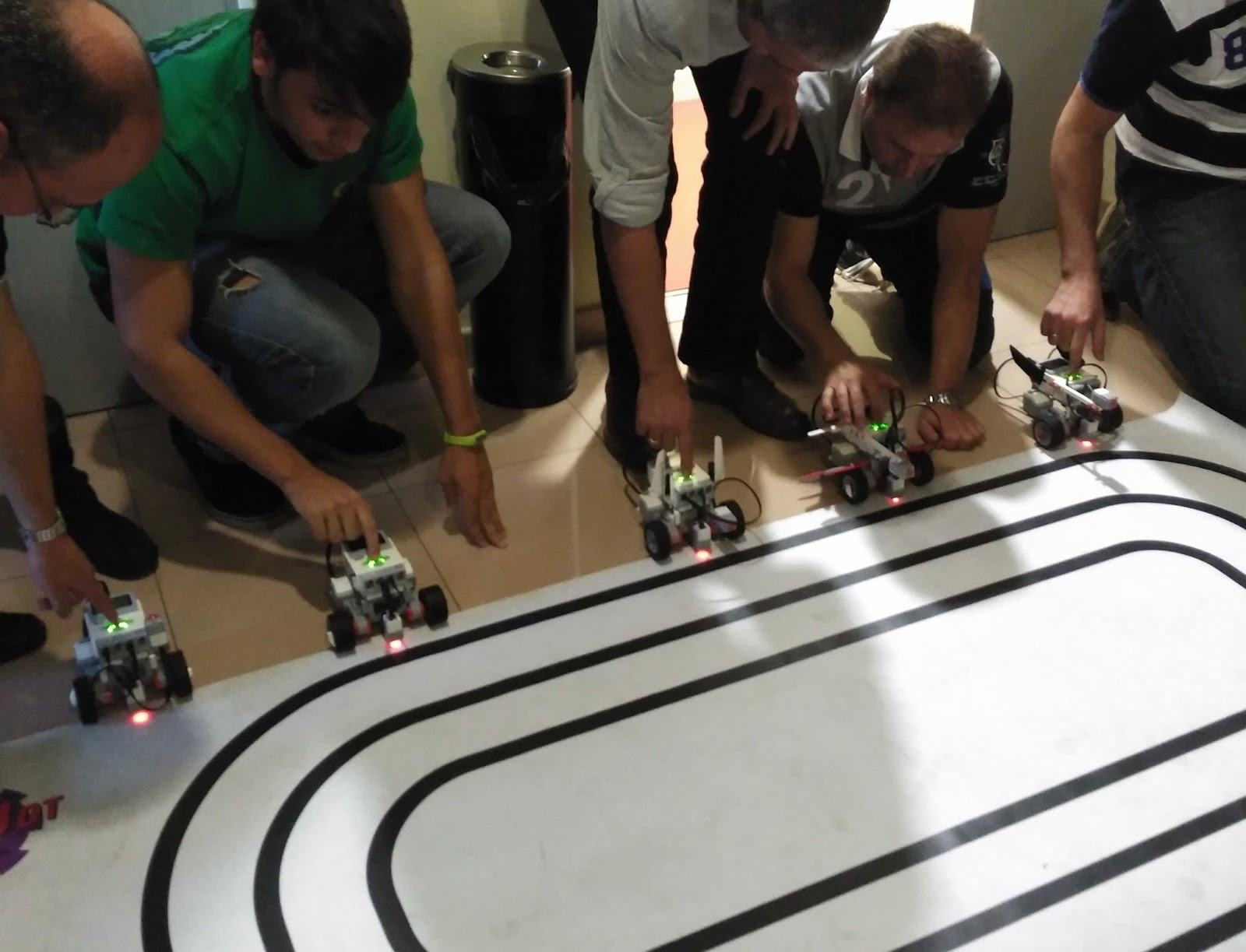 Curso de Profesores de Robotica y Programacion