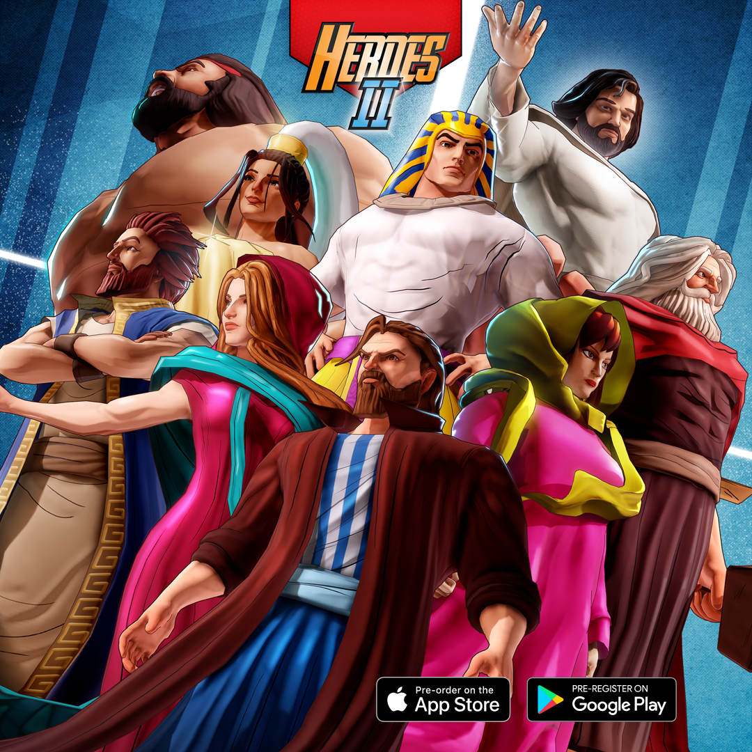 Image for the Biblical game Heroes II