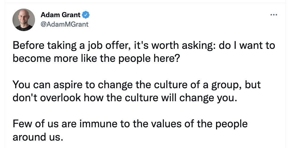 Adam Grant on Twitter