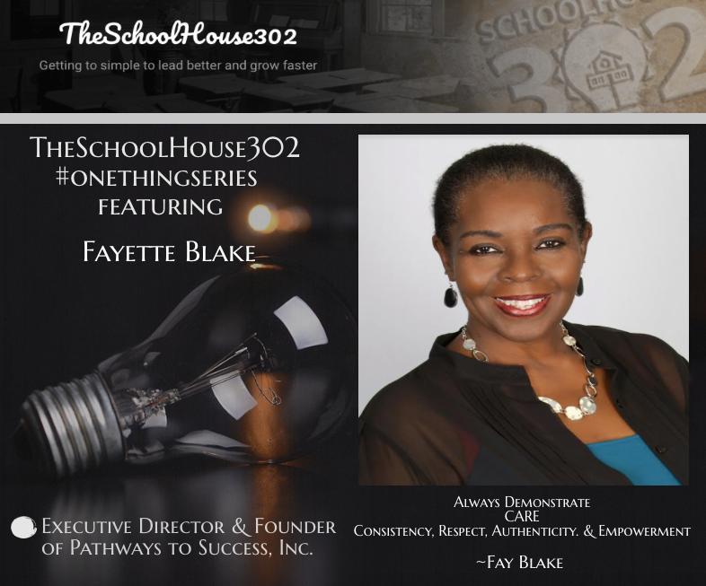 #onethingseries: Service Leadership w/ Fay Blake