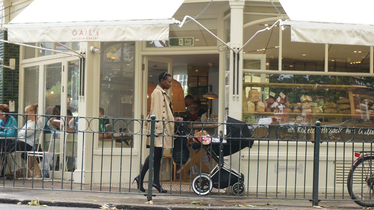 London: Spotlight on Barnes #CybexInTheCity Gail's Kitchen Barnes