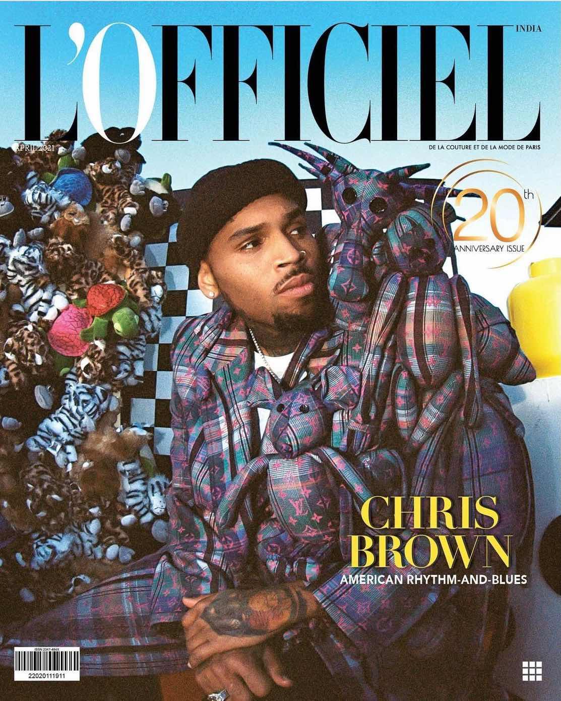 Chris Brown for L'offieciel Magazine