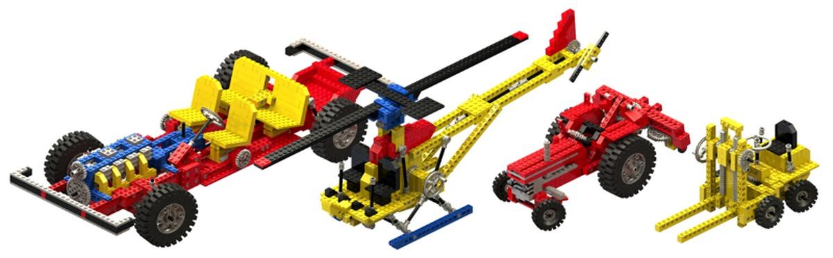 Конструкторы LEGO Technic вместо учебника по механике, фото-1