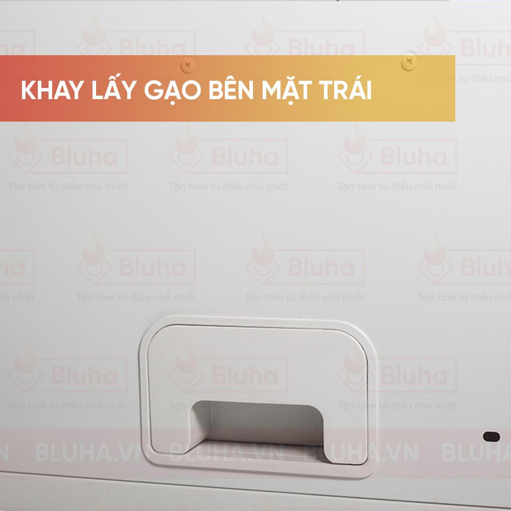 Khay lấy gạo bên mặt trái - Thùng gạo gắn cánh cánh Qman - Phụ kiện bếp chính hãng