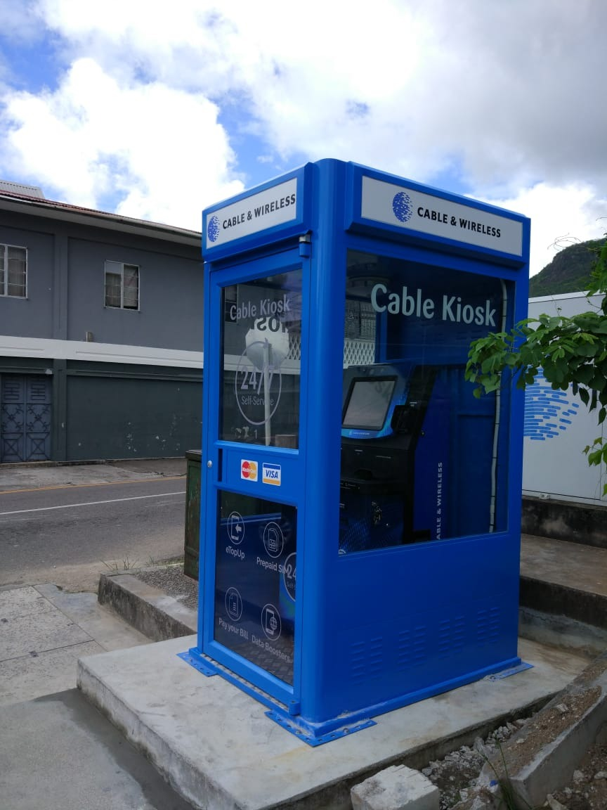 Cable & Wireless Self Service Kiosk Booth