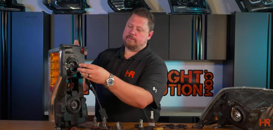 How to Install H13 LED Headlight Bulbs