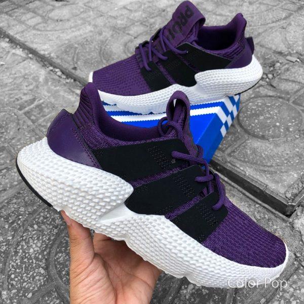 giay adidas prophere purple black