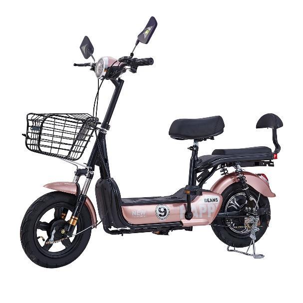 LULAE V9 รถไฟฟ้า ผู้ใหญ่ จักรยานไฟฟ้า Electric Bicycle รถจักรยานไฟฟ้า  สกูตเตอร์ไฟฟ้า มีกระจกมองหลัง ไฟหน้า-หลัง ไฟเลี้ยว | Lazada.co.th