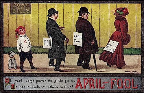 Картинки по запросу April Gowk Day
