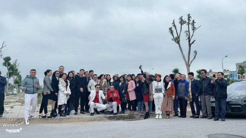 Cổ đông tham quan quỹ đất tại Thanh Hóa