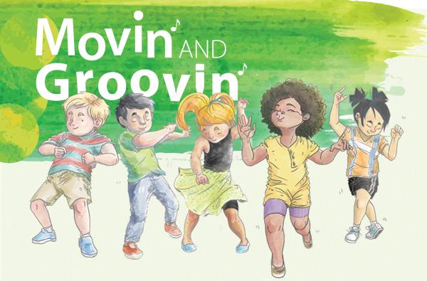 Illustration Holiday Movin & Groovin' at TAOTS!