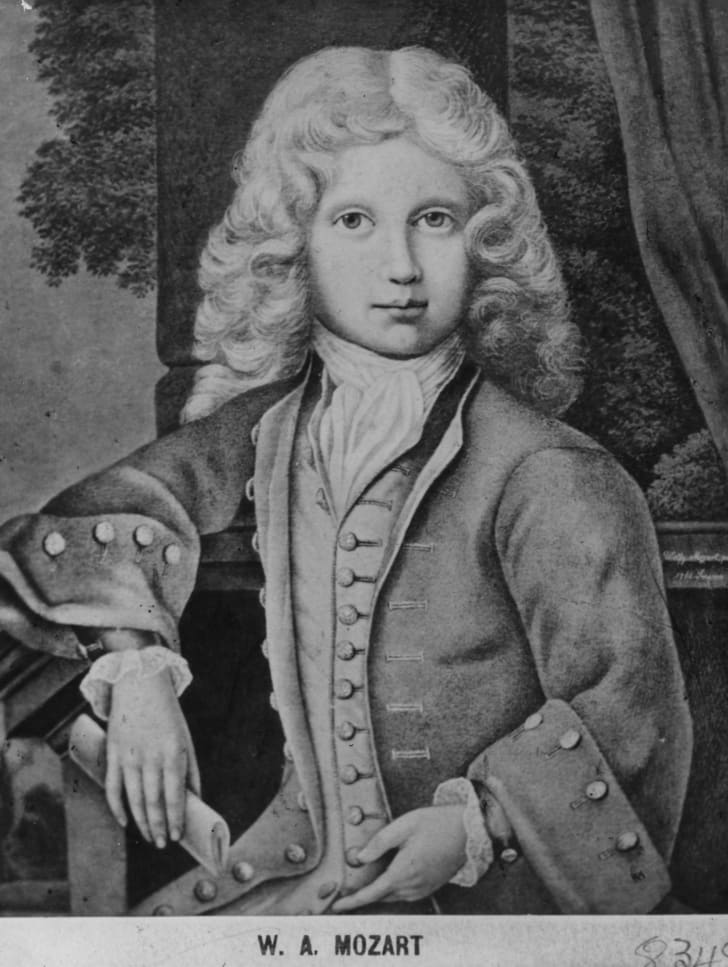 Child Prodigy Wolfgang Mozart
