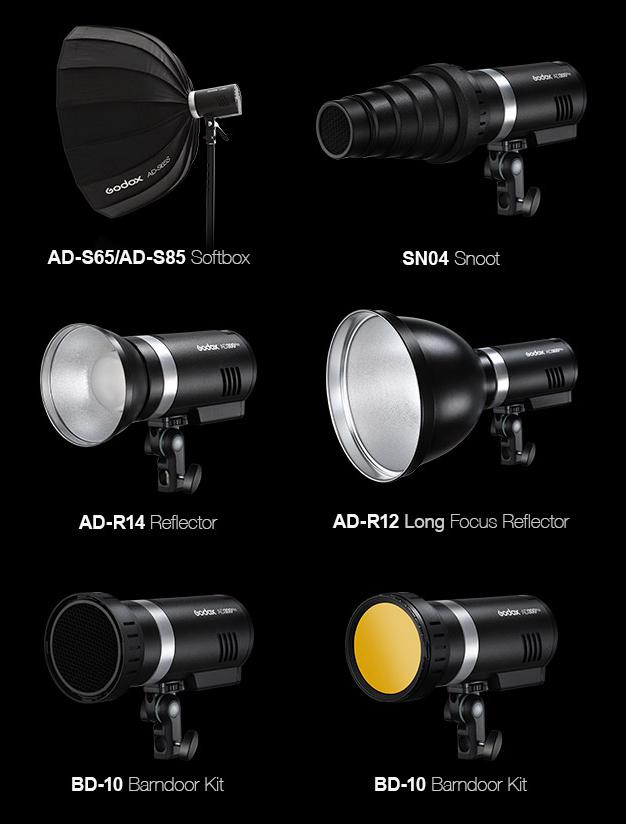 Modifiers Godox AD300 Pro