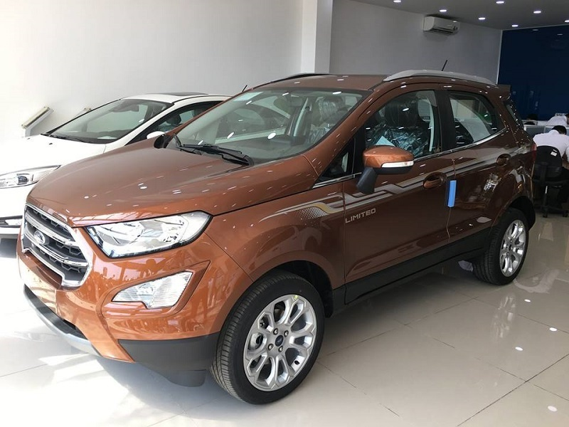 xe ford ecosport titanium 1.0L AT