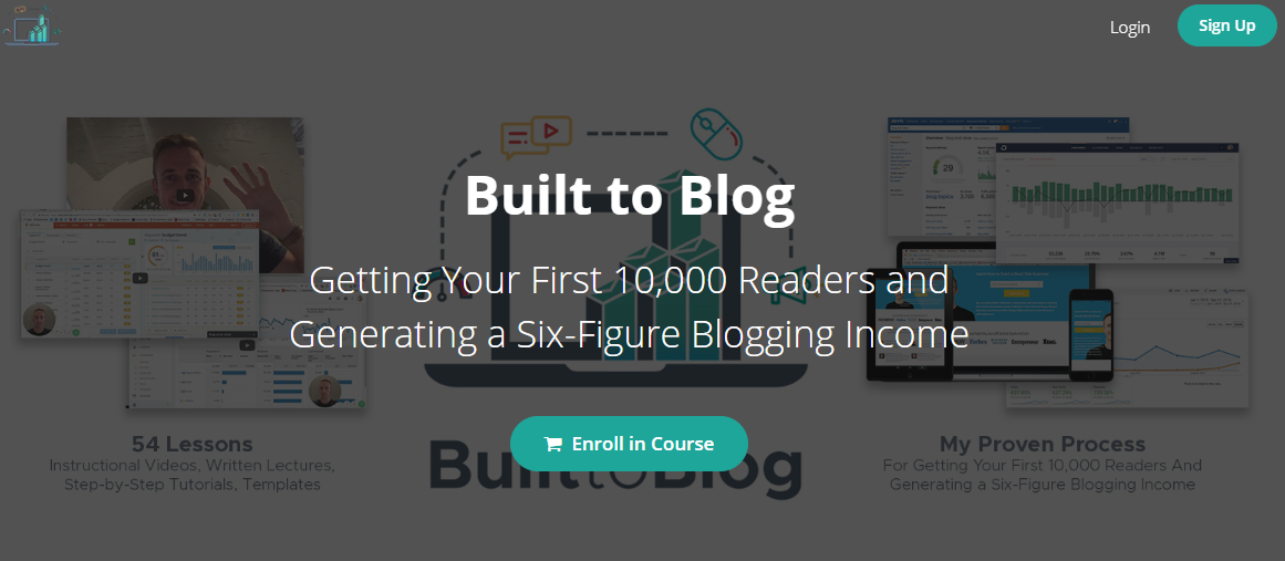 Built to Blog by Ryan Robinson