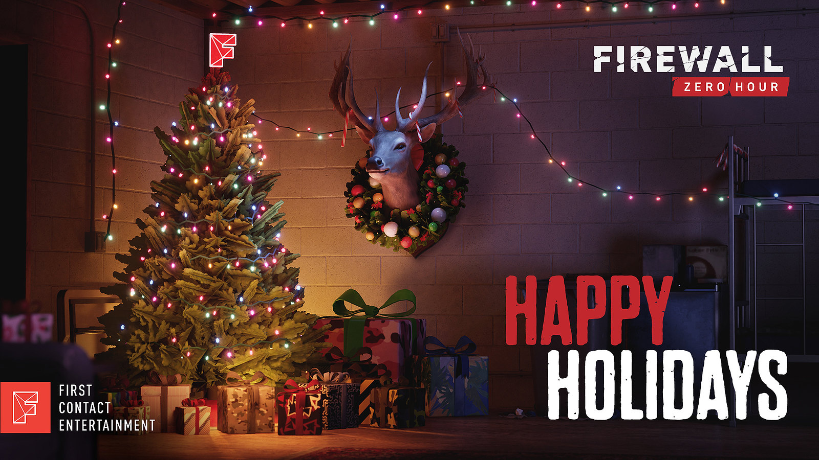 Рождественские открытки от разработчиков