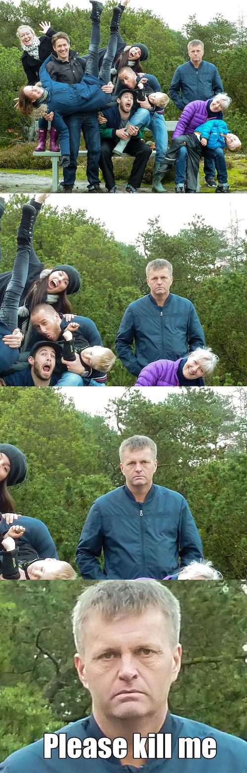 bad fam photos 10 These funny family photos gone wrong are seriously hysterical! #funnypictures #familyphotos #epicfail #funny #LOL #badfamilypics #humor #familyphotoshumor