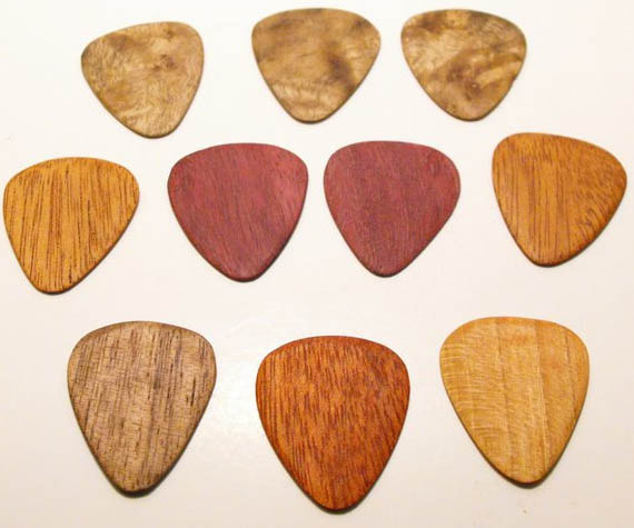 Guitar Picks: These 50 Woodworking Projects That Sell Online will help you make some money.
