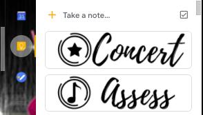 Google Keep Icon