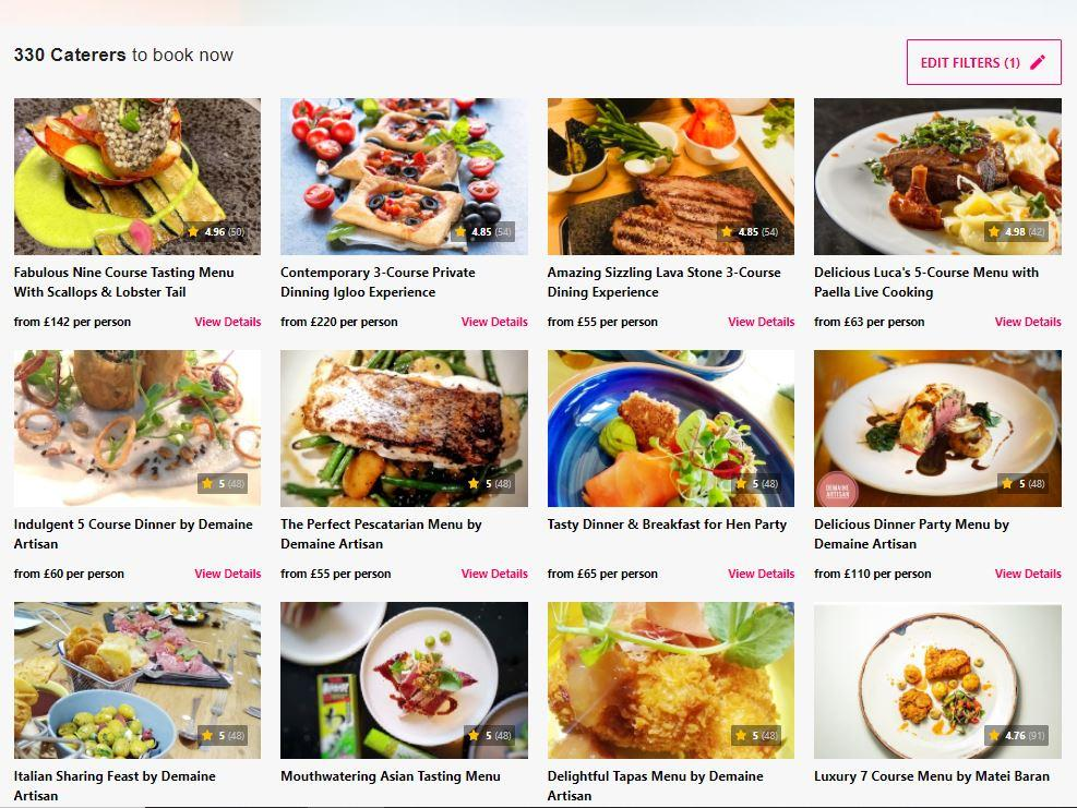 A screenshot of a menu  Description automatically generated with medium confidence