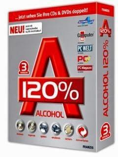 Phần mềm Alcohol 120