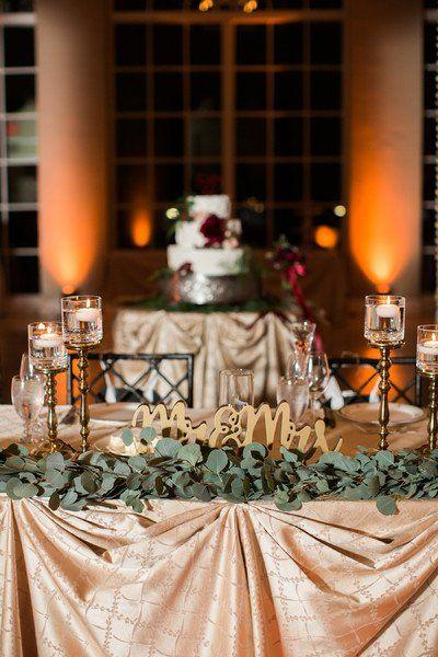 Incorporate natural elements into your table setting. Winter Wedding Ideas You Will Love – Wedding Soiree Blog by K'Mich, Philadelphia's premier resource for wedding planning and inspiration