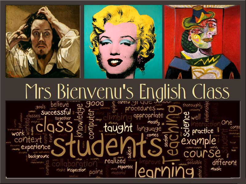 photo front page-Mrs Bienvenu english class-arts.tmp.jpg