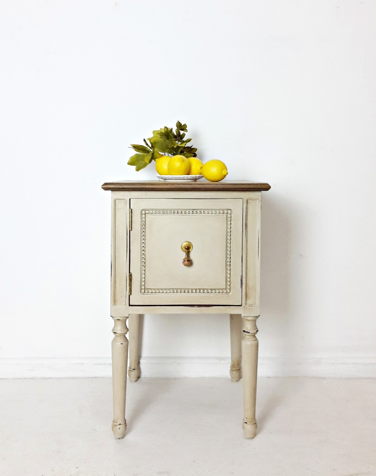 Rustic bedside cabinets