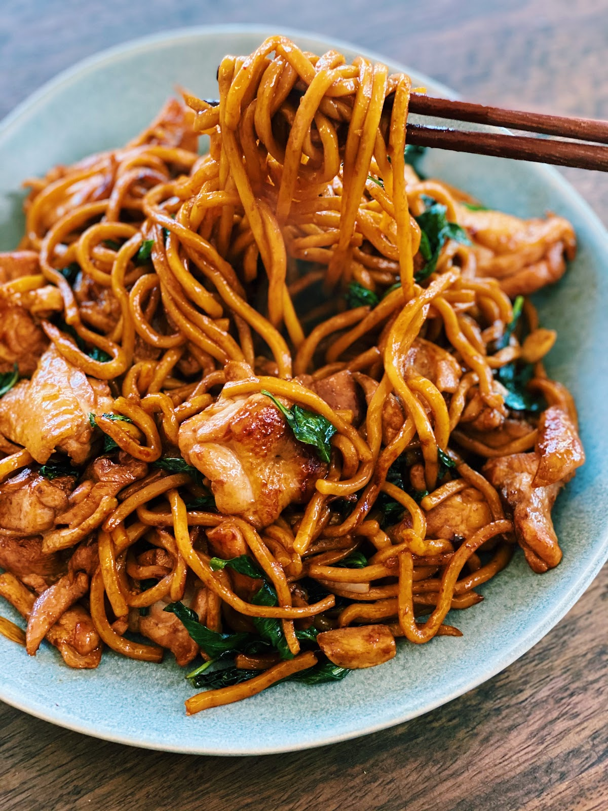 3 Cup Chicken Noodle Stir-Fry (20 Minutes ONLY!)