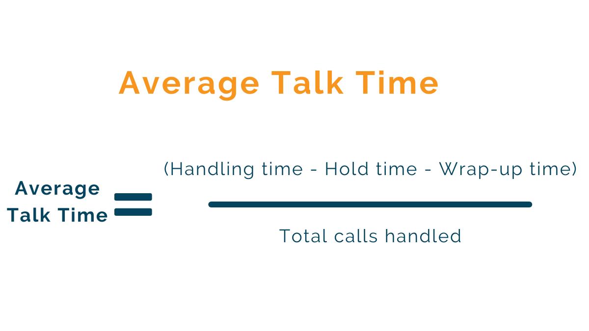 average talk time