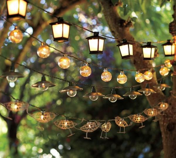 Những lưu ý khi lựa chọn đèn trang trí sân vườn