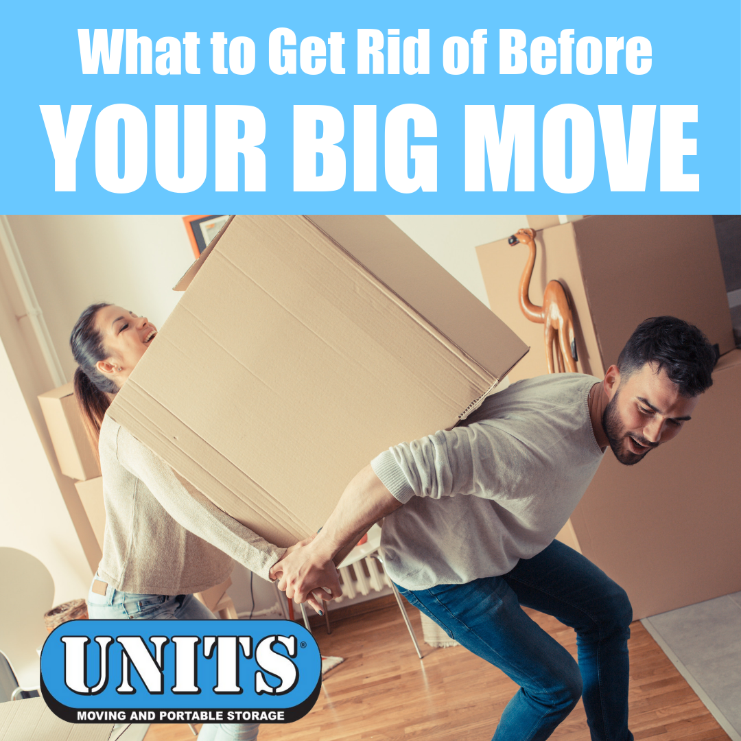 What to Get Rid of Before Your Big Move