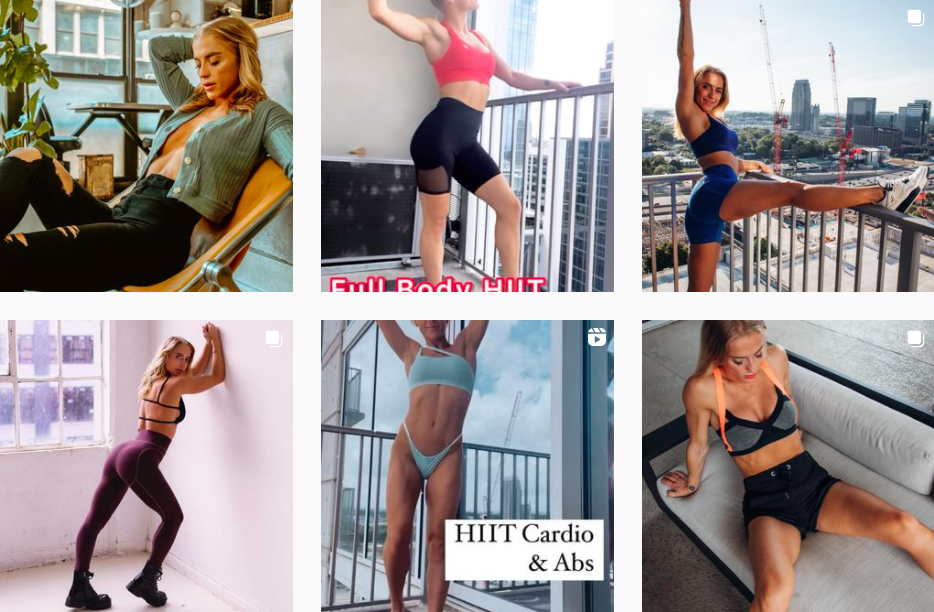 Ana Snyder | Instagram Fitness Posts | Influencers in New York