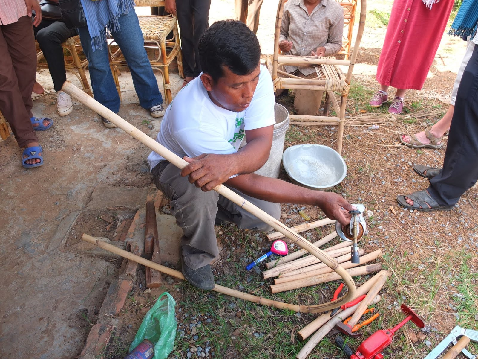 Gentil How To Make Rattan Furniture