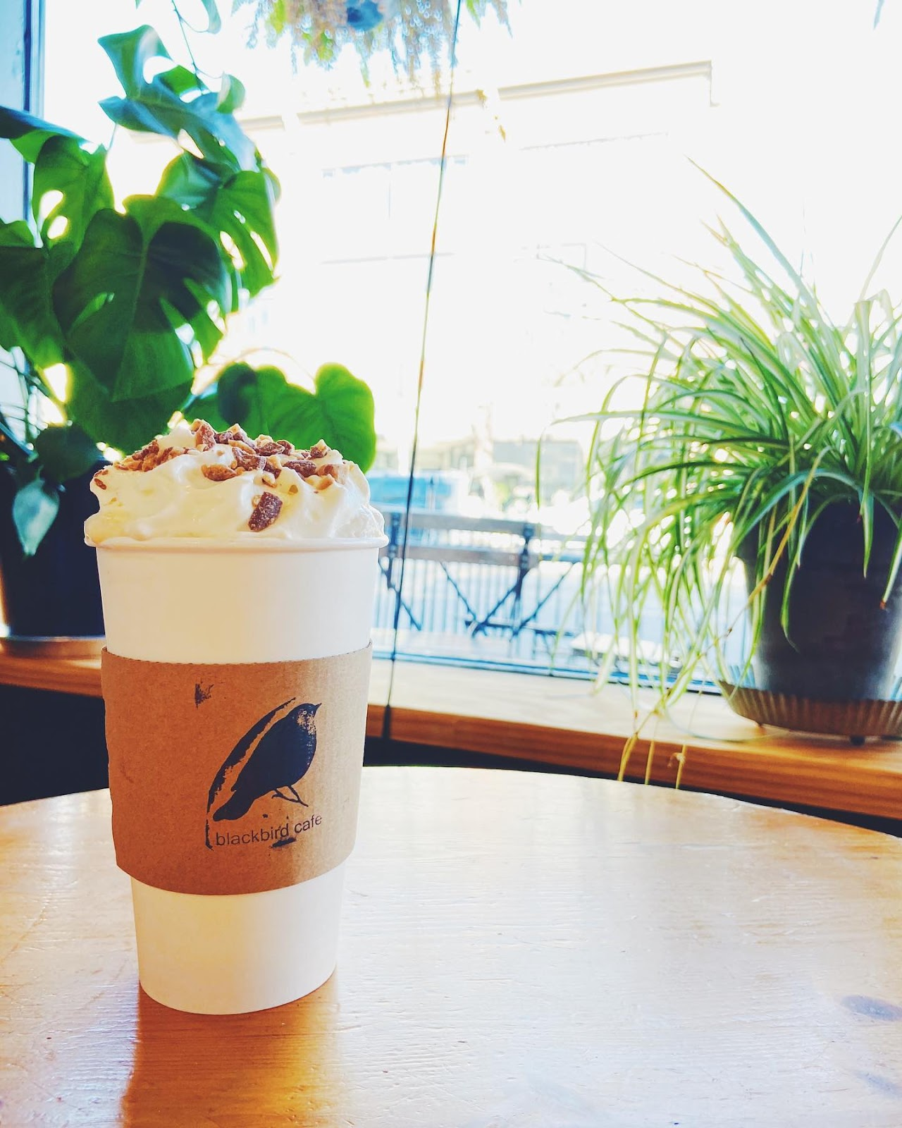 Blackbird Cafe latte