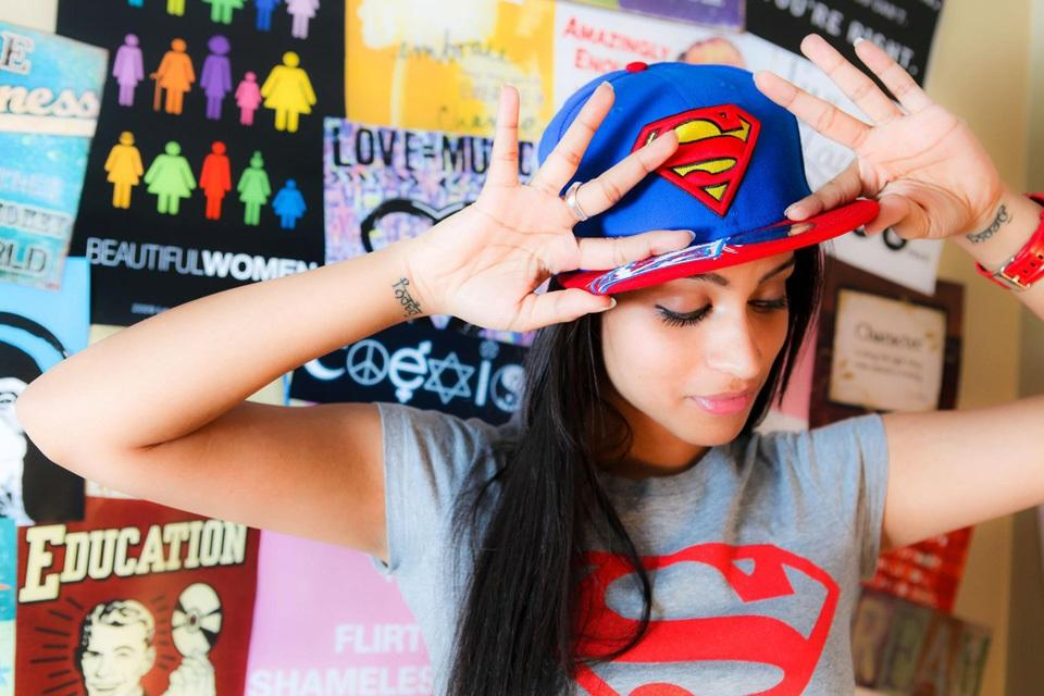 Image result for lilly singh superwoman symbol