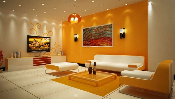 Ideas de pintura para sala pinturas anypsa - Combinacion de colores pintura ...