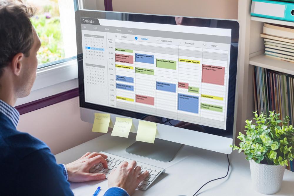 Membuat jadwal untuk konten marketing