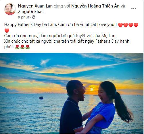 Sao Việt đồng loạt chia sẻ, gửi lời chúc ý nghĩa nhân Ngày của Cha Ảnh 5