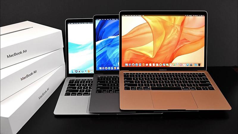 Các dòng Macbook hiện nay