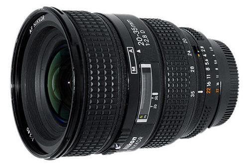 Nikon 20-35mm f / 2.8D